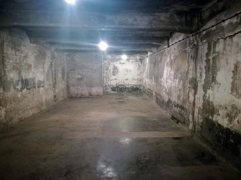 plynová komora Osvětim