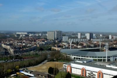 Brusel - výhled z Atomia
