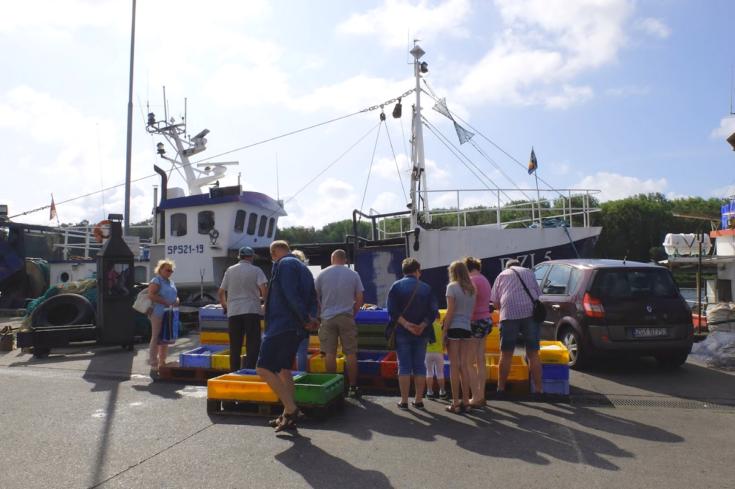 Prodej ryb - Dziwnów