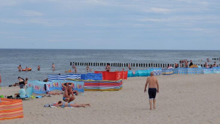 Dziwnów - pláž