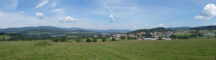 rozhledna Horní Planá - výhled