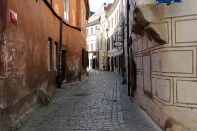 Český Krumlov v době koronavirové krize